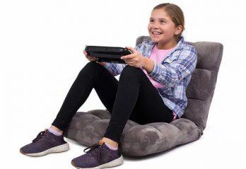8. BirdRock Home Adjustable Floor Chair with Back Support