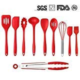 8. Mysj Kitchen Silicone Utensil sets