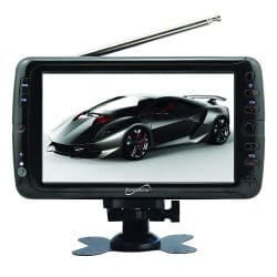 9. GJY Portable TV Widescreen LCD Display