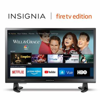 9. Insignia 24-inch 720p HD Smart LED TV