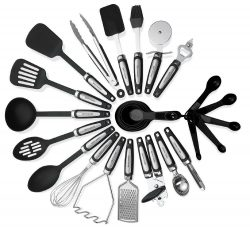 9. Kitchen Utensil Sets 26 pieces