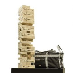 9. Seville Classics Premium Giant Block Tower Game