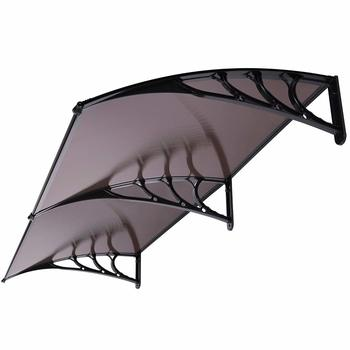 9. VIVOHOME Polycarbonate Window Door Awning Canopy