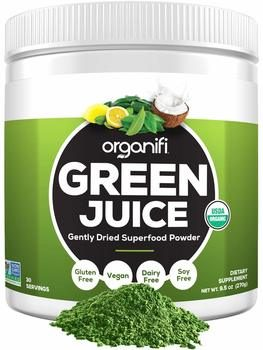 1. Organifi Green Juice – Organic Superfood Supplement Powder