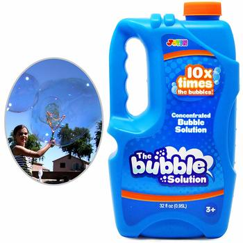 12. Joyin Toy Bubble Solution Refill (up to 2.5 Gallon)