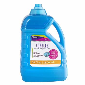 13. Darice 64-Ounce Bubble Solution-Includes Wand and Easy Pour Funnel