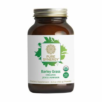 2. Pure Synergy USDA Organic Barley Grass Juice Powders