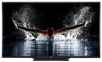 2. Sharp LC-90LE745 90-inch 1080p 120Hz LED 3D HDTV