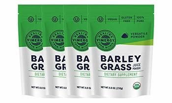 4. Vimergy USDA Organic Barley Grass Juice Powders