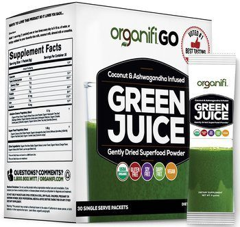 5. Organifi Go Packs Organic Barley Grass Juice Powder