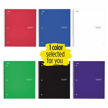 6. Five Star Spiral Notebook - 5-Subject Notebooks