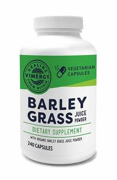 6. Vimergy Organic Barley Grass Juice Powder Capsules