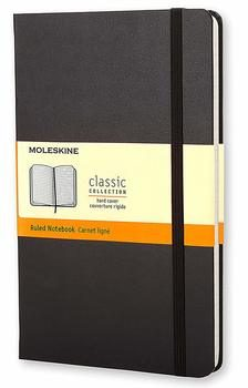 7. Moleskine Classic Notebook Hard Cover