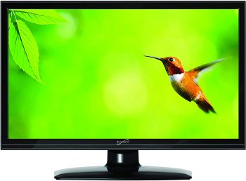 1. Supersonic 16-inch TV - 1080p LED Widescreen 15.6-Inch HDTV