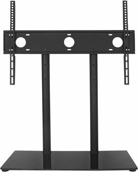 1. WALI Table Top Television Stand 55-inch TV