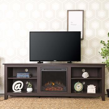 13. New 70 Inch Fireplace Wide Television Stand, 70-inch TV Stand