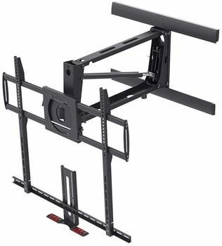 3. Monoprice Above Fireplace Full-Motion Pull-Down Articulating 100-inch TV Stand