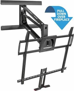 4. 100-inch TV Stand Mount-It! Fireplace Heavy Duty TV Mount