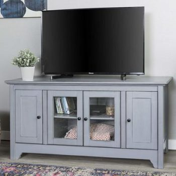 7 WE Furniture Antique Grey 52-inche TV Stand