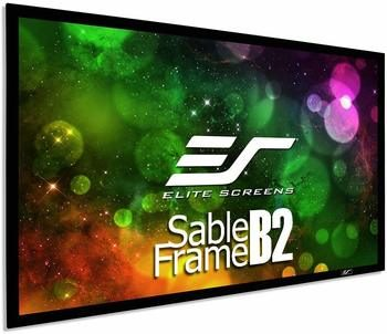 7. Elite Screens B2 Sable Frame 120-inch Projector Screen 4K & 8K Ultra HD