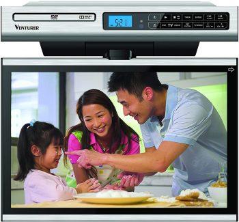 8. Venturer 15.4-Inch Undercabinet TV-DVD Best 16-inch TVs