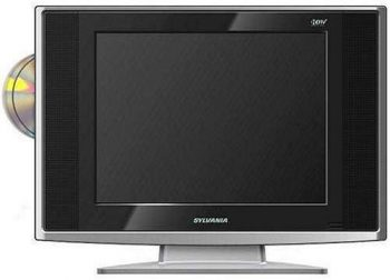 9. Sylvania 15-inch Digital LCD TV & DVD Combo