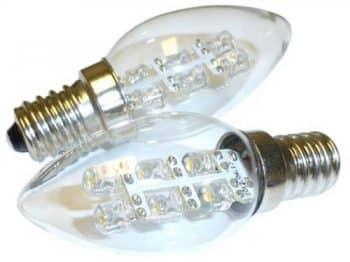G7 Power Boulder LED 0.5 Watt 15 Lumen C7 Night Light Bulb 2900K Soft White Light Base 2-pack