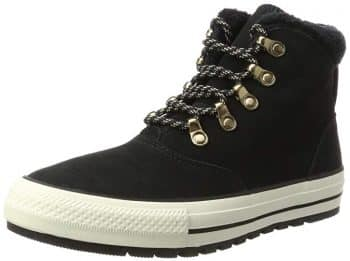 Converse Womens Chuck Taylor All Star Ember Boot Hi Suede Trainers