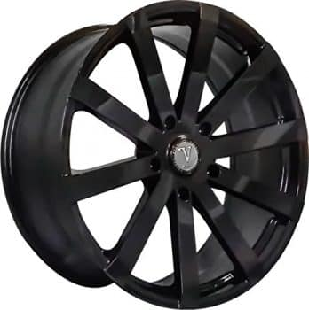 "22"" Inch Velocity VW12 Gloss Black Wheels Rims Only"