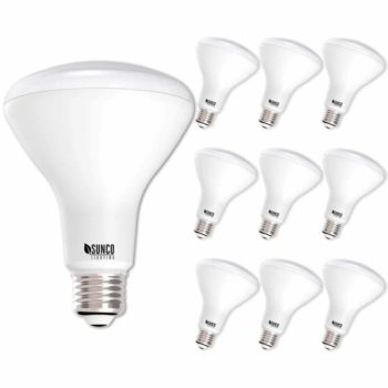 Sunce Lighting 10 Pack BR30 LED Light Bulb