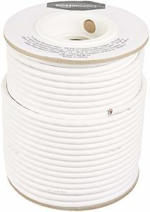 1. AmazonBasics 14-Gauge Audio Speaker Wire Cable -Free Copper