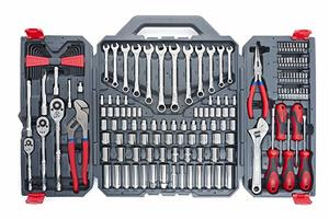 1. Crescent 170 Pc. General Purpose Tool Set