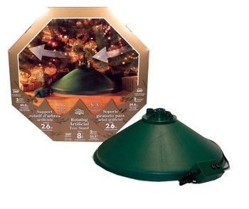 1. Halloween FX Christmas Tree Stand Ez Rotate