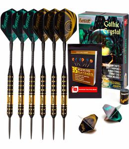 1. IgnatGames Steel Tip Darts Set