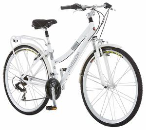 1. Schwinn Discover Hybrid Bikes for Men and Women