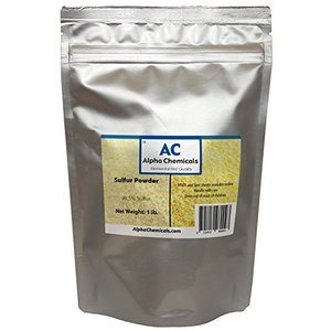 1. Sulfur Powder (Brimstone) - 99.5% Pure - 1 Pound