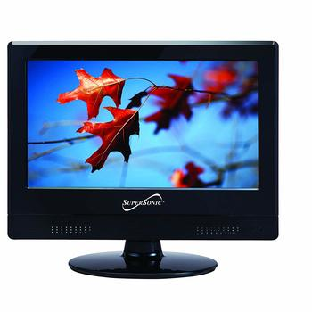 1. Supersonic 13.3-inch TV 1080p LED Widescreen HDTV