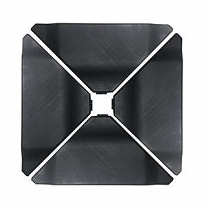 10. Abba Patio Offset Umbrella Base Black