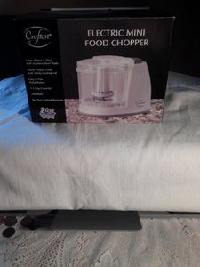 10. Electric Mini Food Chopper