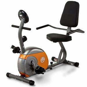 10. Marcy Recumbent Exercise Bike Resistance