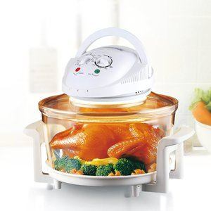 10. Rosewill R-HCO-15001 Infrared Halogen Oven with Stainless Steel Ring