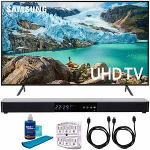 10. Samsung 65-inch RU7100 LED Smart 4K UHD TV