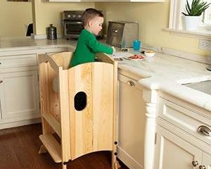 10. Svan Kitchen Tower for Kids and Toddlers