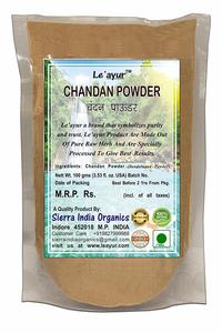 12. Le'ayur Chandan (Sandalwood) Powder 100 Gms