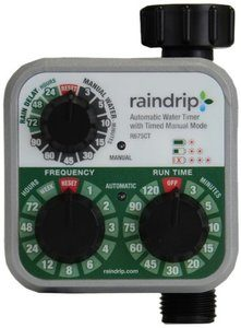 12. Raindrip R675CT Analog 3-Dial Water Timer