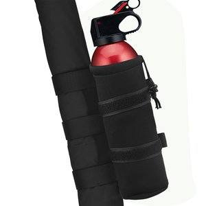 13. 1PC Black Roll Bar 2.5 lb Fire Extinguisher Holder Bag