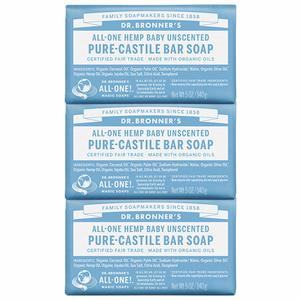 13. Dr. BronnerG��s - Pure-Castile Bar Soap (3-pack)