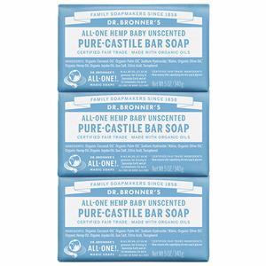 13. Dr. BronnerG��s - Pure-Castile Bar Soap (3-pack)