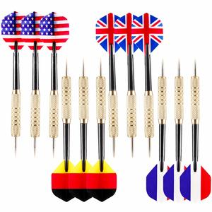 13. Ohuhu Tip Darts with National Flag Flights (4 Styles)