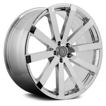 "26"" Inch Velocity VW12 Chrome Wheels Rims Only"